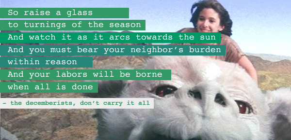 An image I made for one of my earliest posts about what I wanted this blog to create: https://rarasaur.wordpress.com/2012/10/27/i-will-bear-your-burdens-within-reason/