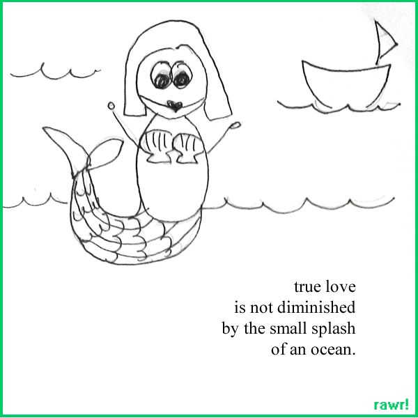 Doodle Poetry: Enchanted Seashells
