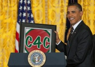 company for christmas, c4c, obama