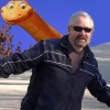 jonathon hilton, rarasaur, there's a dino behind you