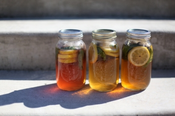 From FreePeople Blog, Sun Tea Pictures and Recipe