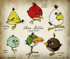 I don't know why they wake me up with violent sounds.  I hear gossip that they might be angry. Source: http://zero-lives.blogspot.com/2010/11/genus-aves-iratus-angry-birds.html