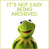 archive, rarasaur, archive post, random post, wordpress, kermit, muppets, kermit the frog