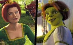 Not in the plan, but she makes a lovely ogre.