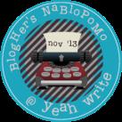 yeah write, nablopomo,
