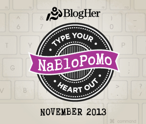 NaBloPoMo