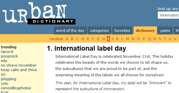 urbanddictionary-internationallabelday