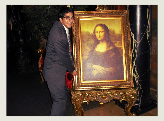 ... time to borrow Mona Lisa.