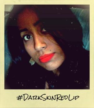 #darkskinredlip, forbrowngirls