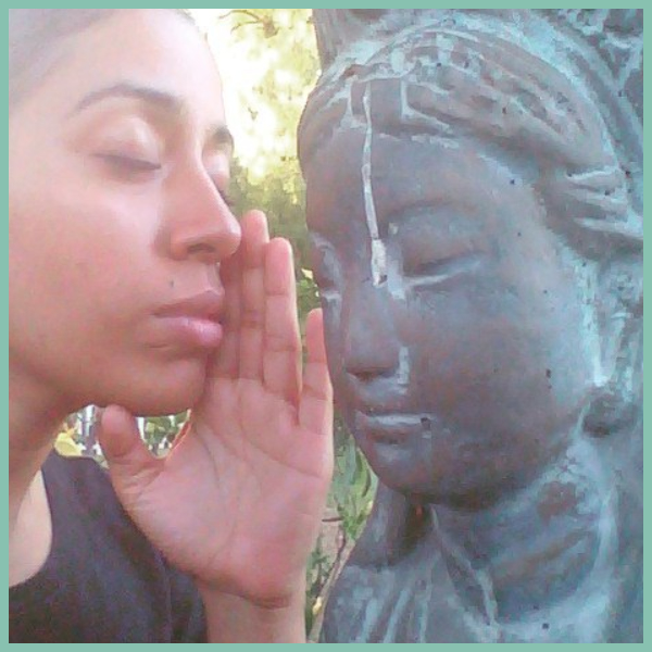 She weeps on the inside, all the time. She whispers her story to Kuan Yin. The one who hears the weeping of the world. It is not a secret, or regret that makes her weep, just a blankness and a thought. #SheNeverNeededStarsHeLitHerWholeSky