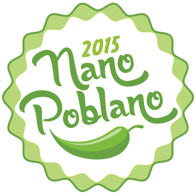 nano poblano, nablopomo, little pepper, blog every day november